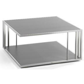 """Beistelltisch """"Suite"""" von Fischer Möbel, 80x80 cm"""