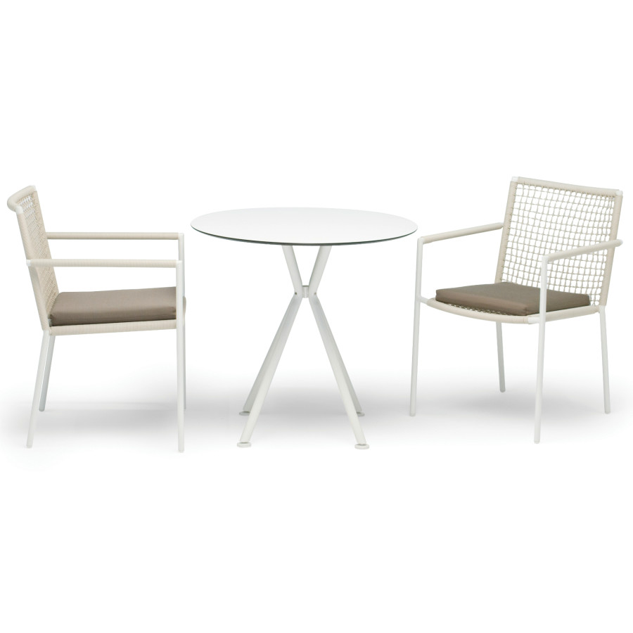 fischer m bel lodge nizza gartentisch rund. Black Bedroom Furniture Sets. Home Design Ideas