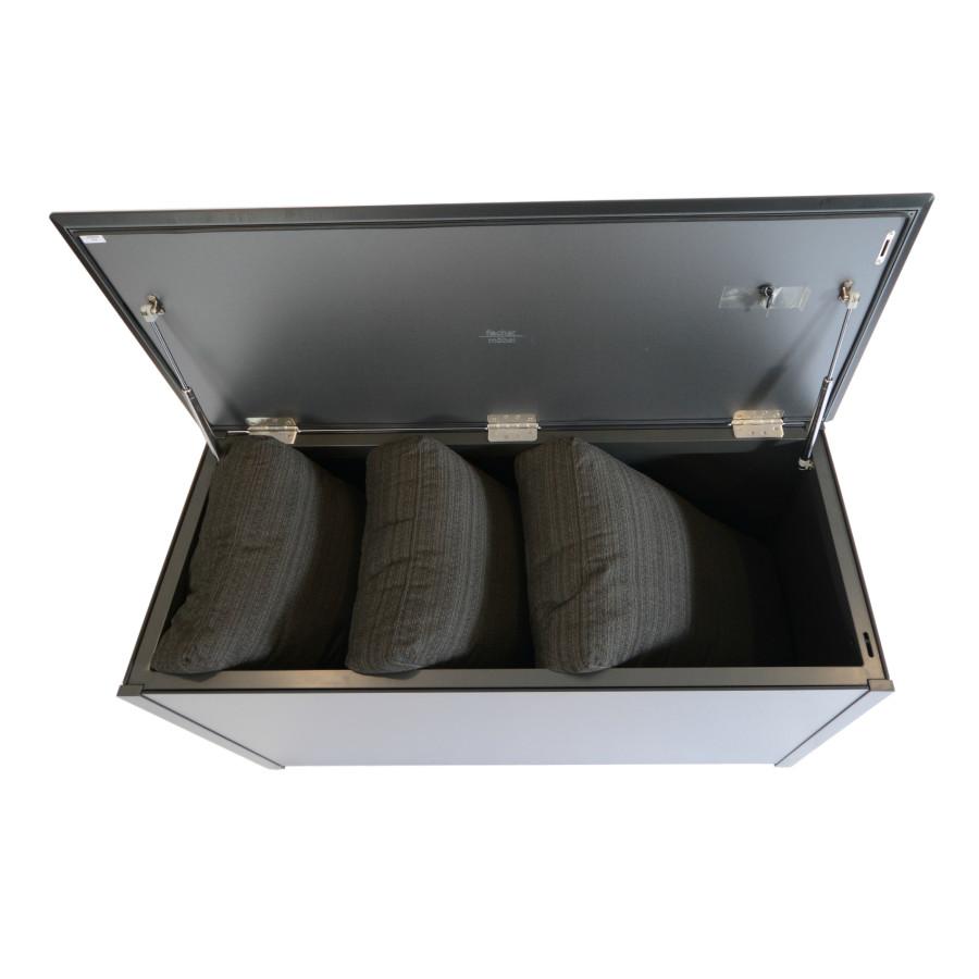 Fischer m bel kissentruhe aluminium fm laminat spezial for Mobel fischer