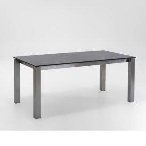 "Niehoff Ausziehtisch ""Natascha"", Tischplatte HPL beton-design"