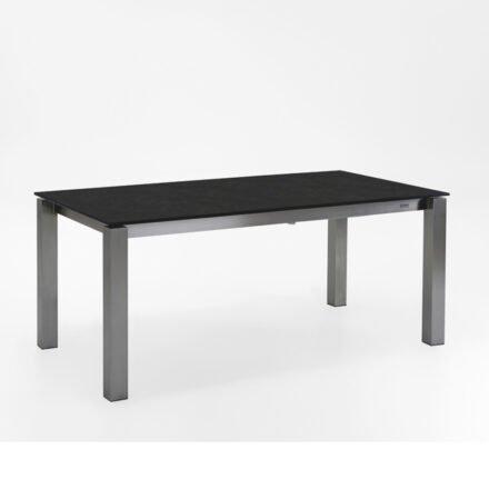 "Niehoff Ausziehtisch ""Natascha"", Tischplatte HPL granit-design"