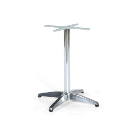 "SonnenPartner Tischgestell ""Korsika"" Aluminium silber"