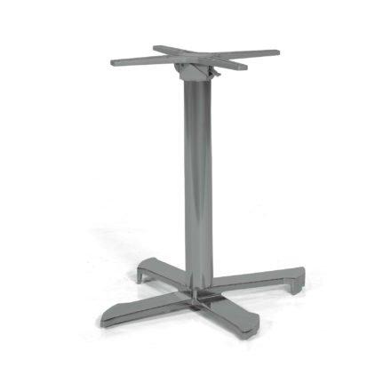 "SonnenPartner Tischgestell ""Kreta"", Aluminium eisengrau"