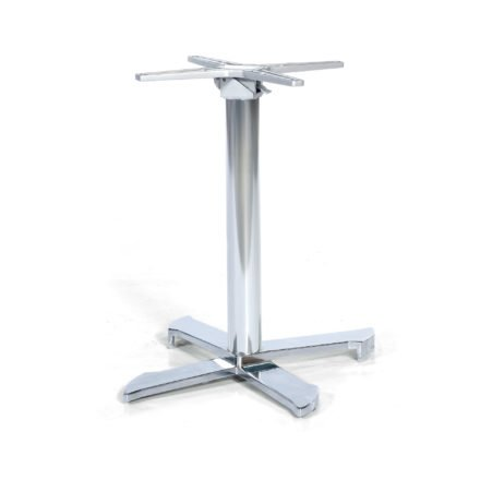 "SonnenPartner Tischgestell ""Kreta"", Aluminium silber"