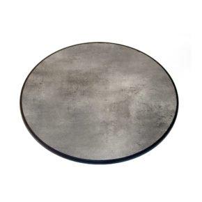 """SonnenPartner Tischplatte """"Lagos"""", Sevelit beton-dunkel, rund, 70 cm"""