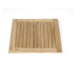 """SonnenPartner Tischplatte """"Tunis"""", Teakholz, 70x70 cm"""