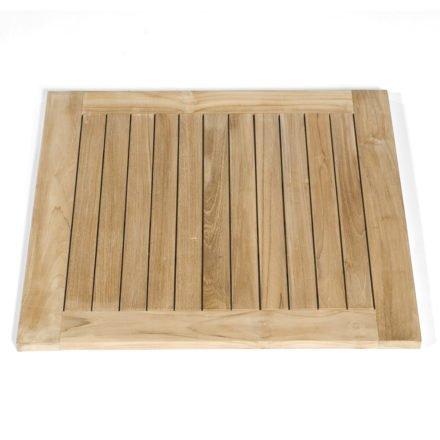 """SonnenPartner Tischplatte """"Tunis"""", Teakholz, 80x80 cm"""