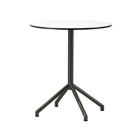 """Cane-line Bistrotisch """"Avenue"""", Gestell Aluminium, Tischplatte HPL weiß"""
