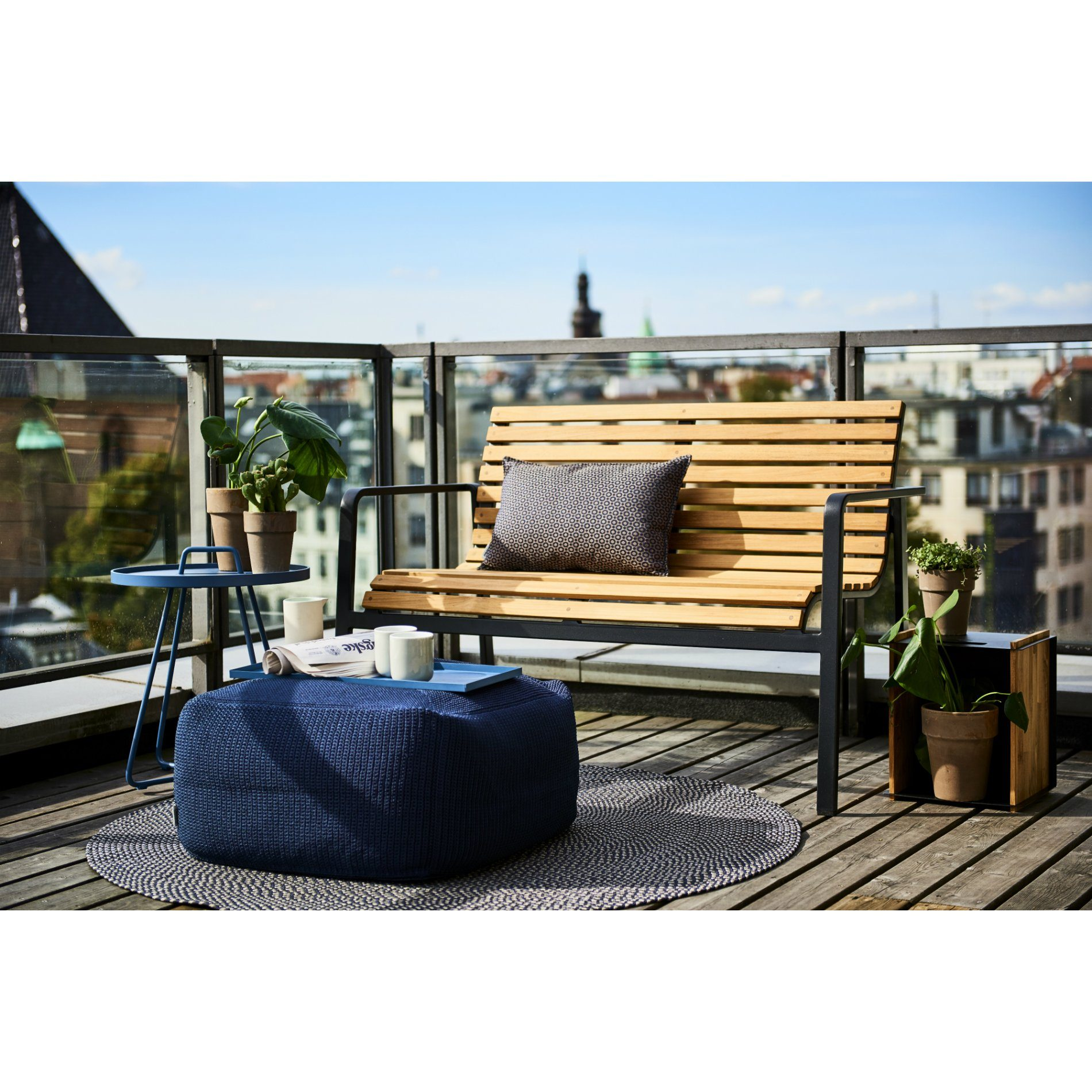 cane line gartenbank parc. Black Bedroom Furniture Sets. Home Design Ideas