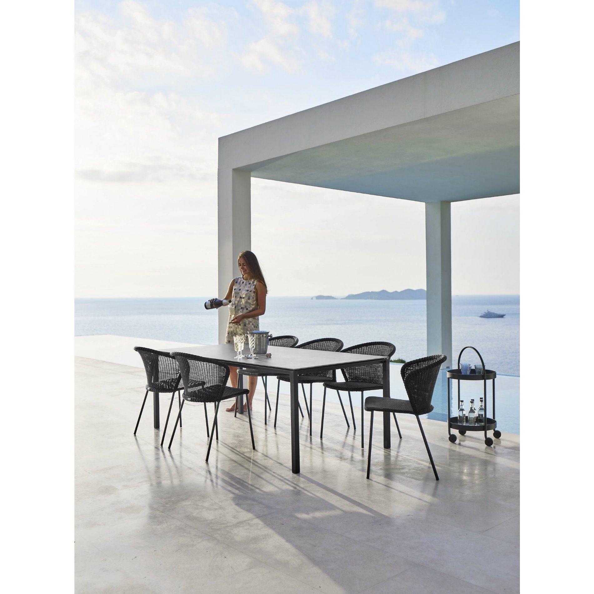 cane line gartenstuhl lean. Black Bedroom Furniture Sets. Home Design Ideas