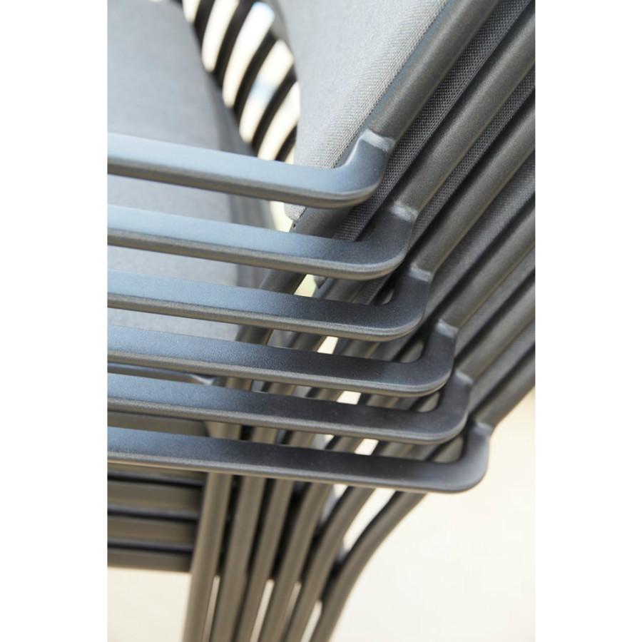cane line less gartenstuhl textilgewebe. Black Bedroom Furniture Sets. Home Design Ideas