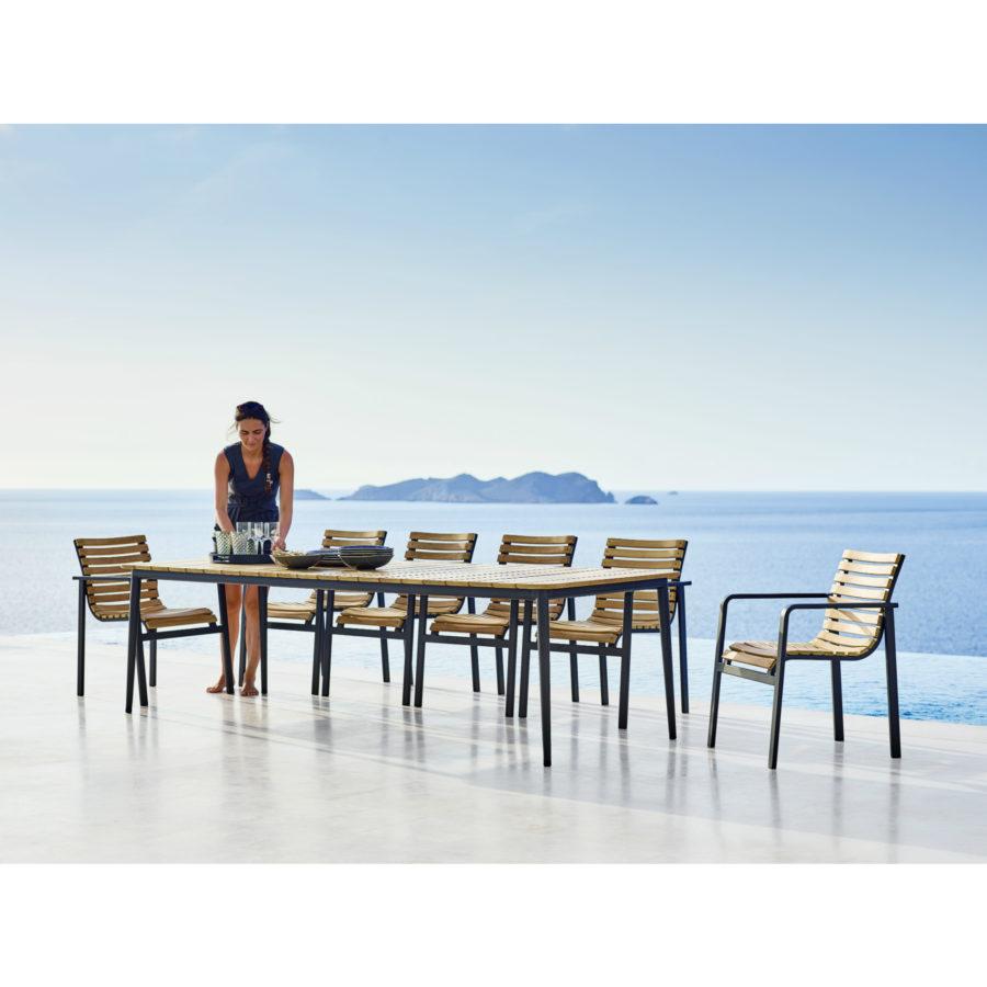 cane line parc gartenstuhl. Black Bedroom Furniture Sets. Home Design Ideas
