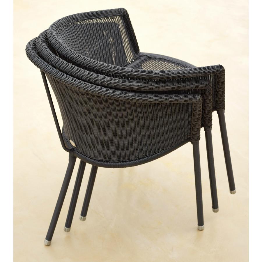 cane line trinity gartenstuhl. Black Bedroom Furniture Sets. Home Design Ideas