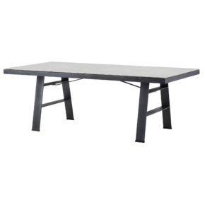 """Gartentisch """"Flex"""" von Cane-line, Tischplatte Keramik concrete grau"""