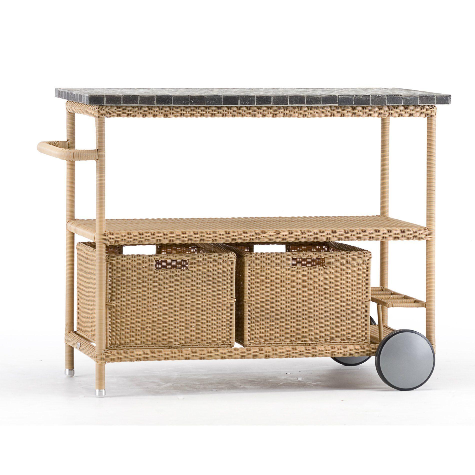 cane line henley servierwagen. Black Bedroom Furniture Sets. Home Design Ideas