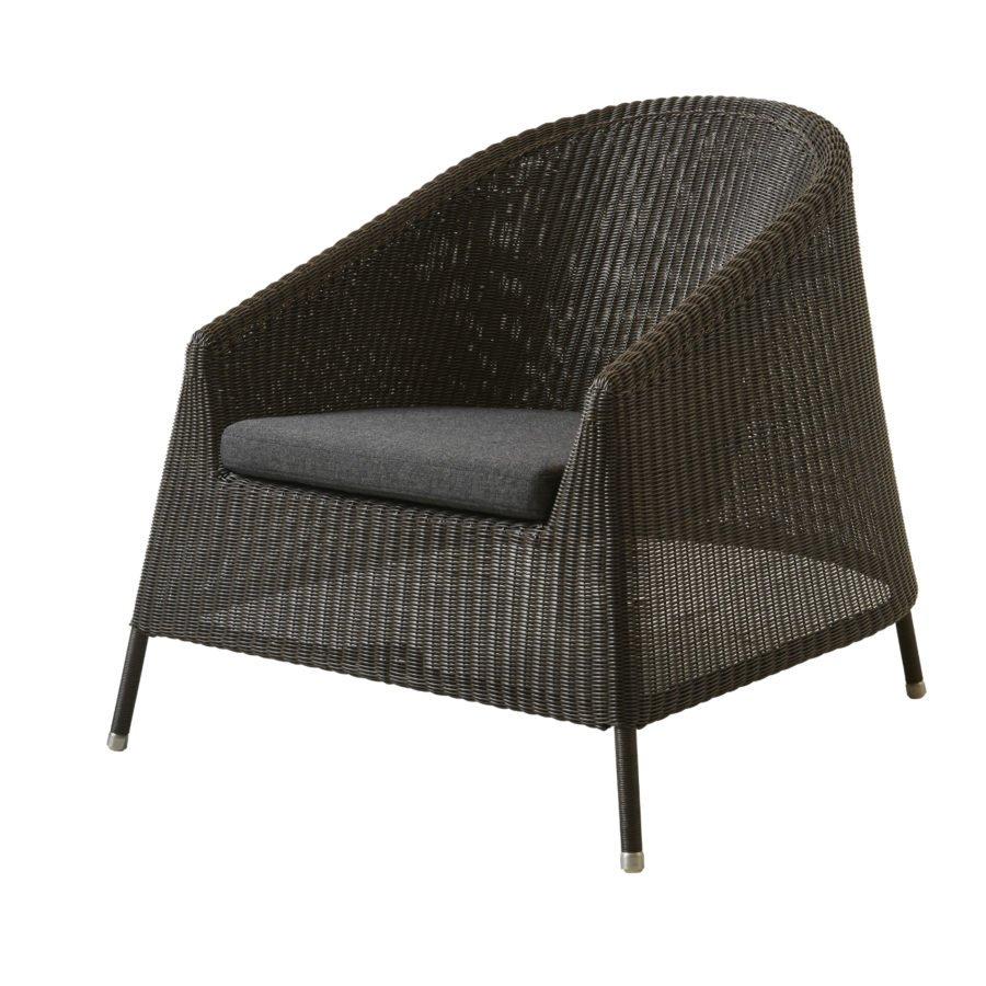 cane line kingston loungesessel. Black Bedroom Furniture Sets. Home Design Ideas