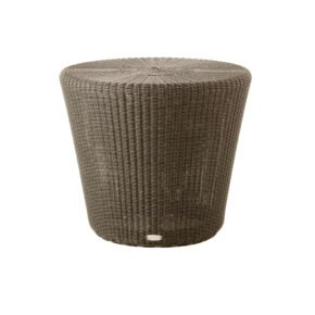 "Cane-line Loungehocker ""Kingston"" niedrig, Polyrattan mocca"
