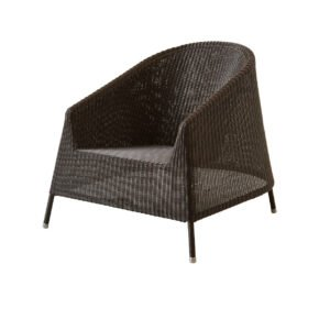"Cane-line ""Kingston"" Loungesessel, Polyrattan mocca"