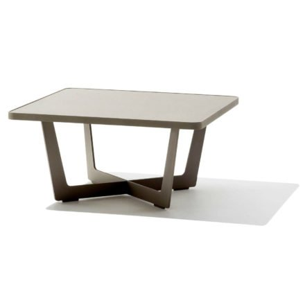 """Cane-line Loungetisch """"Time Out"""", taupe"""