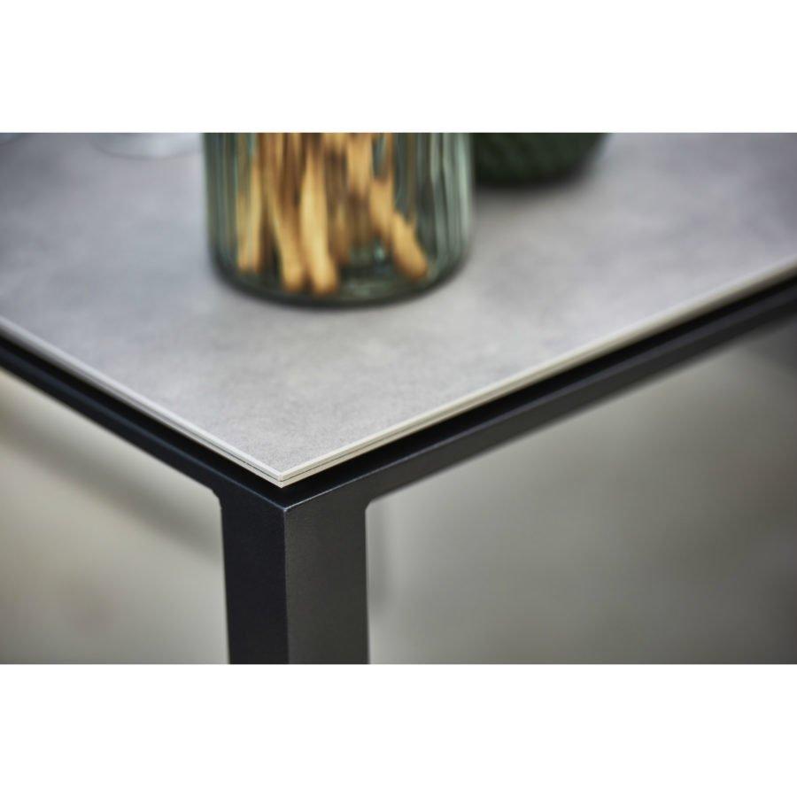 Cane Line Pure Gartentisch Gestell Aluminium