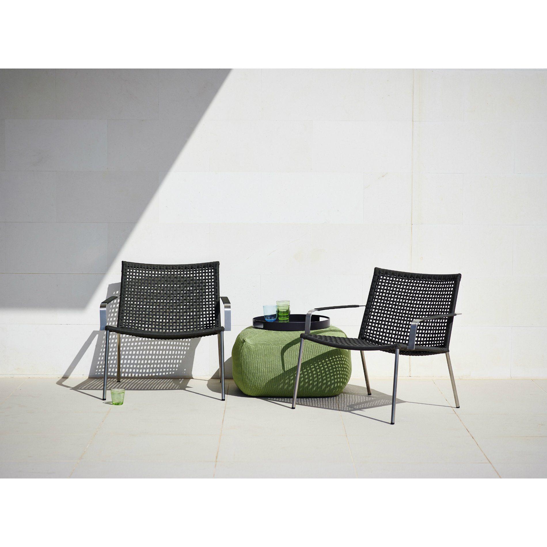 cane line lounge set mit loungesessel straw hocker divine tablett club. Black Bedroom Furniture Sets. Home Design Ideas