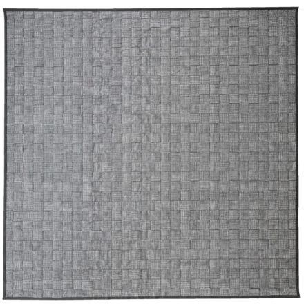 """Cane-line """"I-am"""" Outdoor-Teppich grau-türkis, 300x300 cm"""