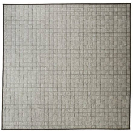 """Cane-line """"I-am"""" Outdoor-Teppich braun-weiß, 300x300 cm"""