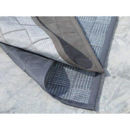 """Cane-line """"I-am"""" Outdoor-Teppich grau-türkis und braun-weiß"""