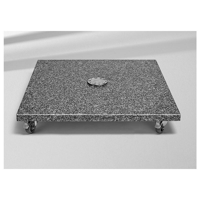 Gartenmobel Massiv Gunstig : Granitsockel M4, Naturstein mit Rollen, von GLATZ (© by GLATZ AG