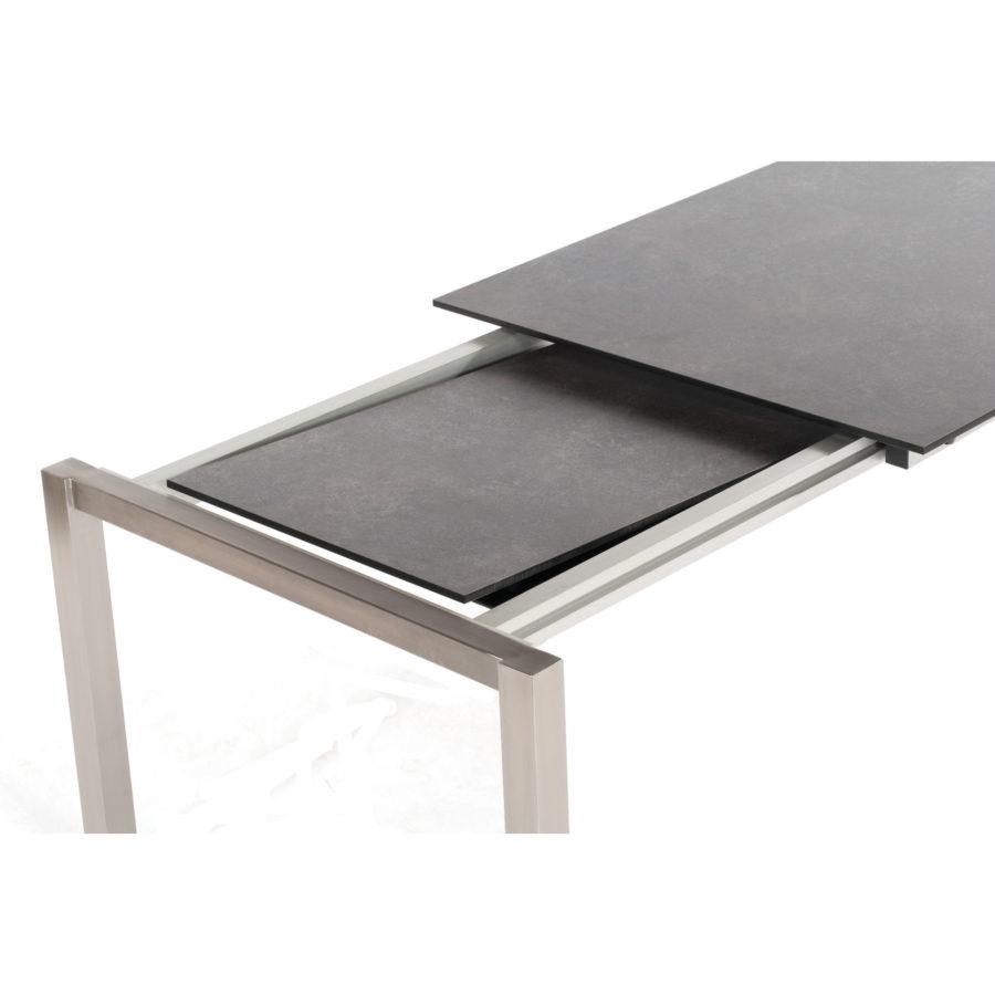 sonnenpartner base ausziehtisch edelstahl. Black Bedroom Furniture Sets. Home Design Ideas