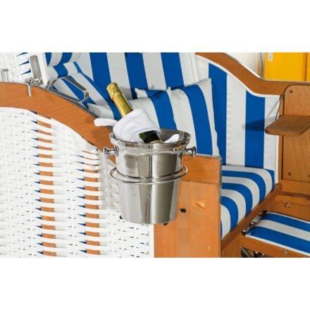 SonnenPartner Sektkühlerhalter/Sektkühler für Strandkorb