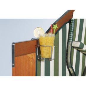 Sonnenpartner Strandkorb Getränkehalter
