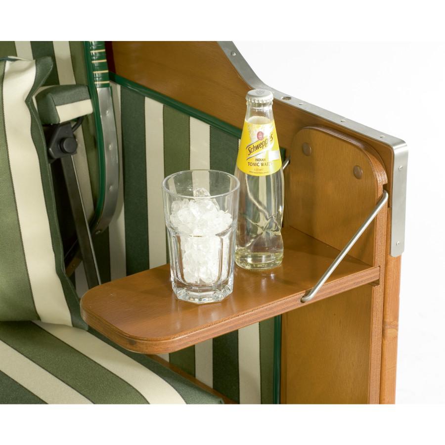 seitentisch pinie grau geb rstet lasiert f r strandkorb. Black Bedroom Furniture Sets. Home Design Ideas