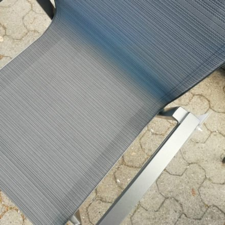 Stern Farbwelt: Gestell Aluminium anthrazit, Textilgewebe karbon