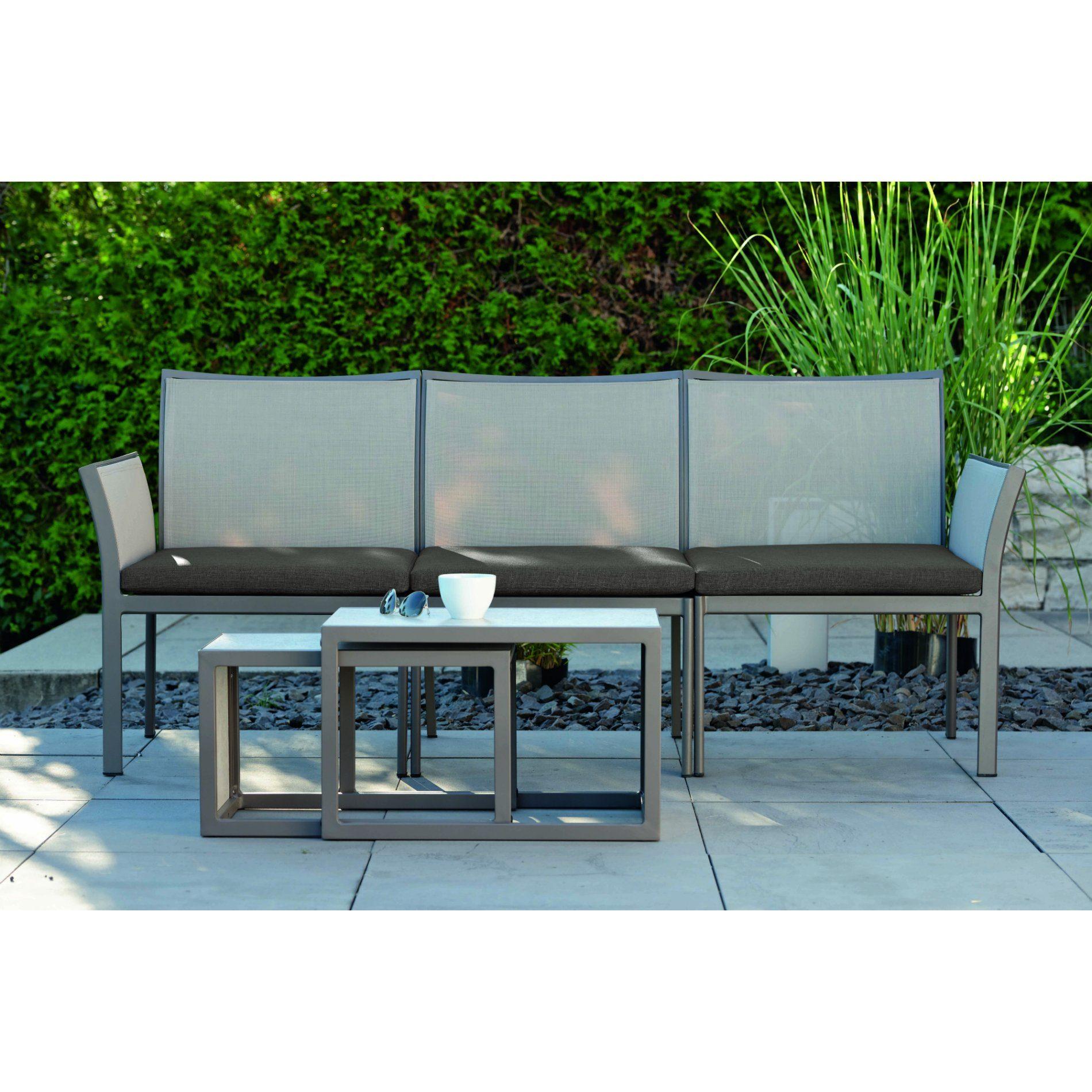 stern lounge set mit modulbank gianni und beistelltisch. Black Bedroom Furniture Sets. Home Design Ideas