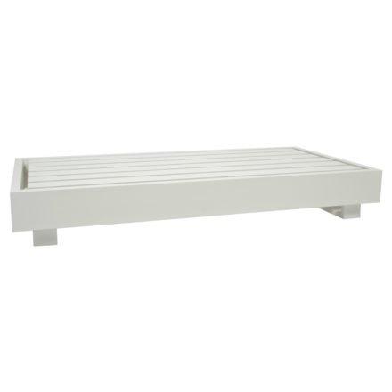 "2-Sitzer Basismodul ""Bari"" von Jati&Kebon, Aluminium weiß"