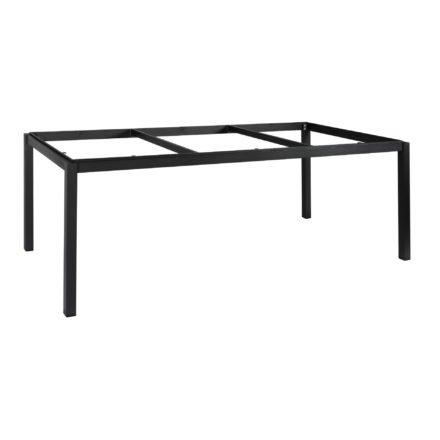 """Gartentisch """"Lugo"""" von Jati&Kebon, Gestell Aluminium eisengrau, 220x100 cm"""