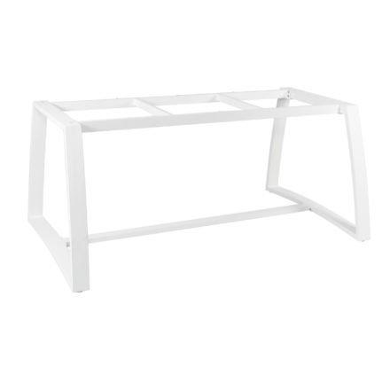 """Gartentisch """"Xanten"""" von Jati&Kebon, Gestell Aluminium weiß, Größe: 220x100 cm"""
