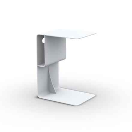 """Beistelltisch """"Bari"""" von Jati&Kebon, Aluminium weiß"""