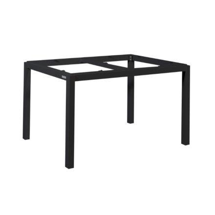"""Gartentisch """"Lugo"""" von Jati&Kebon, Gestell Aluminium eisengrau, 130x80 cm"""