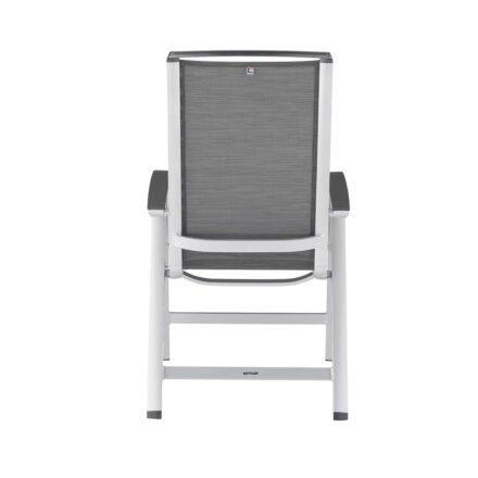 "Kettler ""Forma II"" Multipositionssessel, Gestell Aluminium silber, Sitzfläche Textilgewebe graphit"