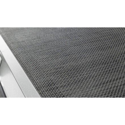 """Kettler """"Forma II"""" Sonnenliege, Gestell Aluminium silber, Liegefläche Textilgewebe graphit"""