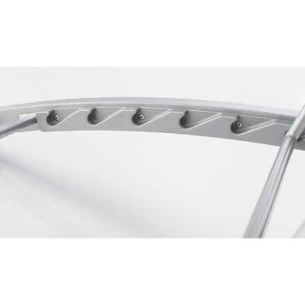 "Kettler ""Forma II"" Sonnenliege, Gestell Aluminium silber, Verstellbarkeit"