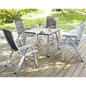 """Kettler Gartenmöbel-Set mit Sessel """"Forma II"""" und Tisch """"Edge"""""""