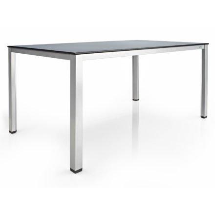 """Gartentisch """"Cubic"""", Tischplatte HPL in anthrazit, von Kettler HKS"""