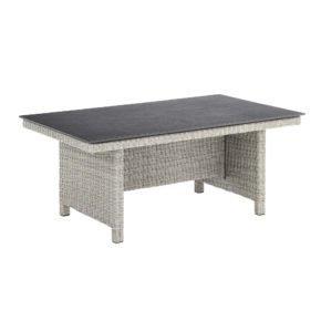 """Loungetisch Kettler """"Palma Modular"""" white-wash, 160x95 cm mit Tischplatte Kettalux"""