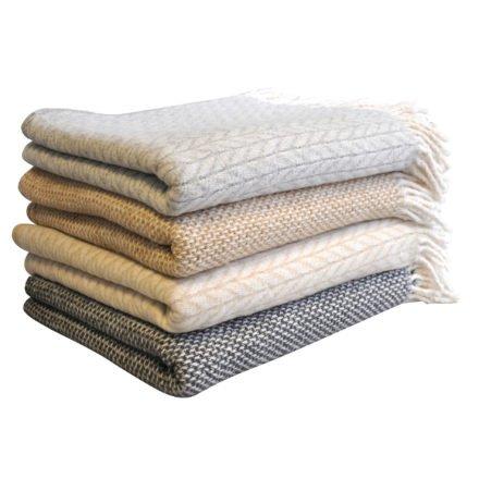 Sonnenpartner Wohlfühldecke 130x170 cm, 50% Baumwolle/50% Polyester