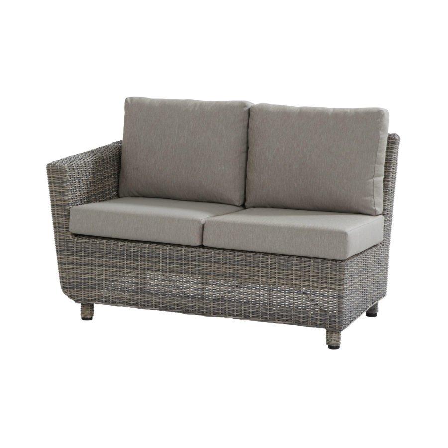 4seasons outdoor fortaleza 2 sitzer seitenteil rechts. Black Bedroom Furniture Sets. Home Design Ideas