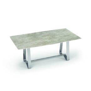"""Zumsteg Gartentisch """"Umbria"""", Gestell Edelstahl, Tischplatte Keramik"""