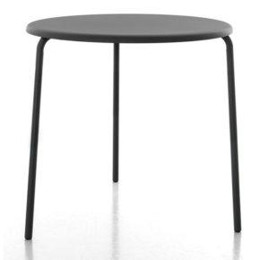 """Gartentisch """"Alu Mito"""" von Conmoto, Aluminium schwarz"""